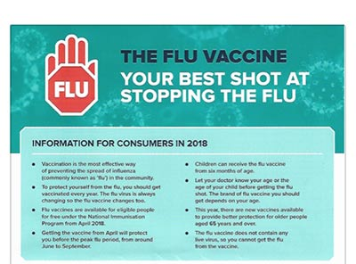 Flu Vaccinations Now Available